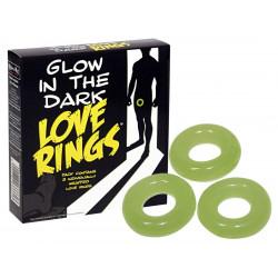 Love Ring Glow in the Dark
