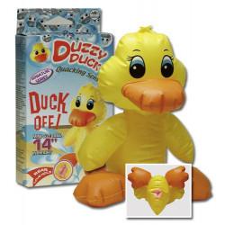 Duzzy Duck Fræk Oppustelig Gul And