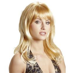 Wigged Love Paryk Rød og Blond hår