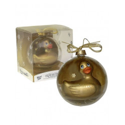 Rub My Duckie Gold Santa