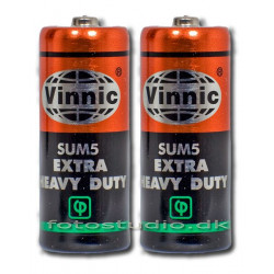 Vinnic Batteri LR1 - 2 pak