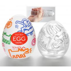 Tenga Keith Haring Egg Street