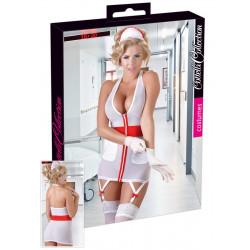 Cottelli Sygeplejerske Kostume Gennemsigtig