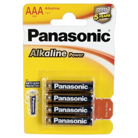 Panasonic Batterier 4 x AAA