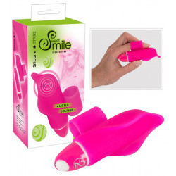 Sweet Smile Silikone Little Dolphin Finger Vibrator