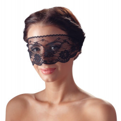 Cottelli Sort Blonde Slør Maske