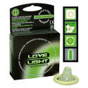 Love Light Glow In Dark Kondom Selvlysende