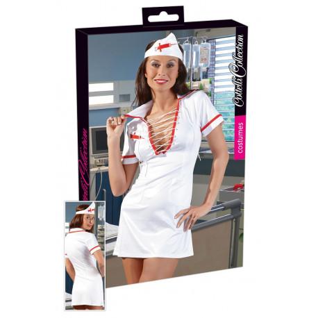 Cottelli Sygeplejerske Kostume Hvid