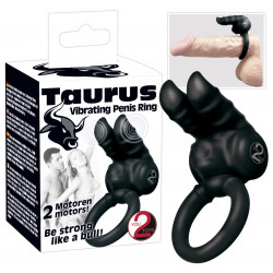 You2Toys Taurus Penisring med To Vibrtorer