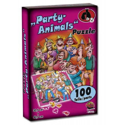 Party Animals Puslespil