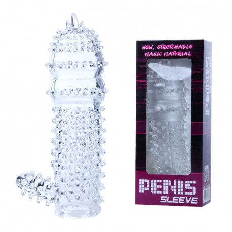 Baile Transparent Penis Sleeve