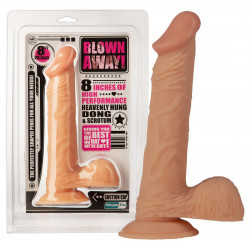 NMC Blown Away Realistisk Dildo med Sugekop