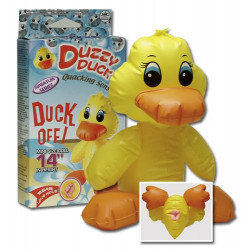 Duzzy Duck Fræk Oppustelig Gul And