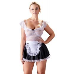 Cottelli Stuepige Kostume med Blondetop