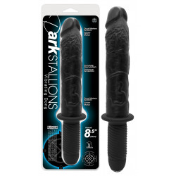 NMC Dark Stallions Kæmpe Dildo Vibrator med Håndtag