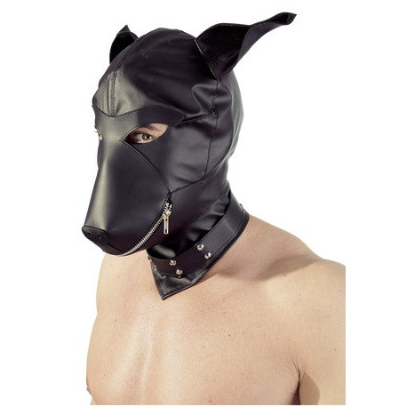 Fetish Collection Læderlook Hundemaske