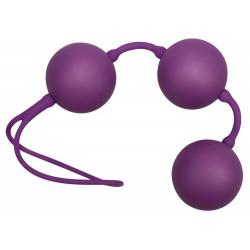 Velvet Purple Balls Trio Bækkenbundskugler