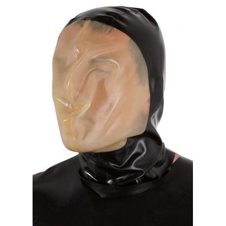 Late X Latex Vakuum Maske med Åndedrætshul