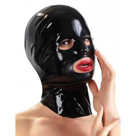 Late X Anatomisk Formet Latex Maske
