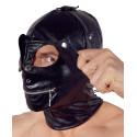 Fetish Collection Dækkende Maske med Lynlås