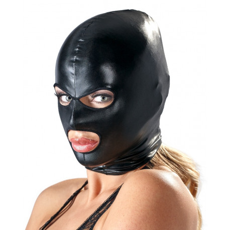 Bad Kitty Wetlook Maske med Øjen- og Mundåbning