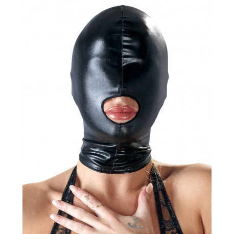 Bad Kitty Wetlook Maske med Åben Mund