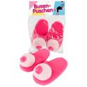 Plys hjemmesko Pink Bryster