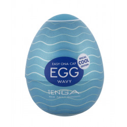 Tenga Egg Wavy Cool Edition Onaniprodukt til Mænd