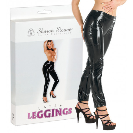Sharon Sloane Latex Leggings