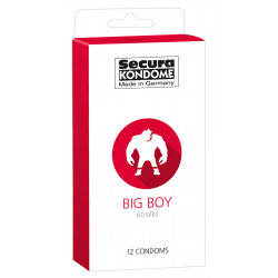 Secura Big Boy Kondomer 60 mm
