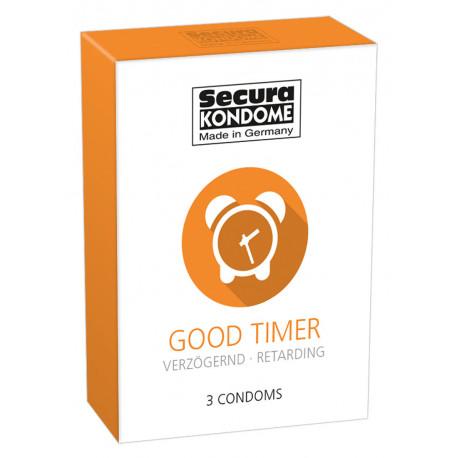 Secura Good Timer Bedøvende Kondomer