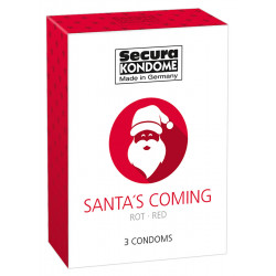 Secura Santa's Coming Kondomer