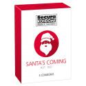 Secura Santa's Coming Kondomer
