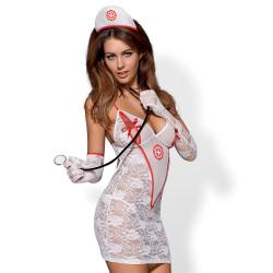 Obsessive Medica Sygeplejerske Kostume
