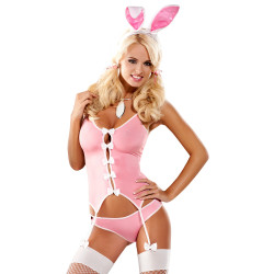 Obsessive Pink Bunny Kostume