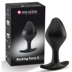 Mystim Rocking Force E-stim  Buttplug
