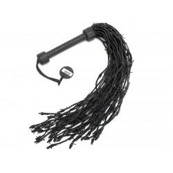 Zorba Læder Pisk med Pigtrådshaler