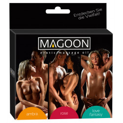 Magoon Massage olie 3 x 100 ml