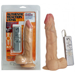 NMC Authentic Reaction Dong Naturtro Vibrator med Fjernbetjening