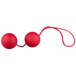 Velvet Red Balls Duo Bækkenbundskugler