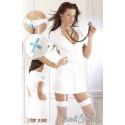 Cottelli Sygeplejerske Kostume med Strømpeholder