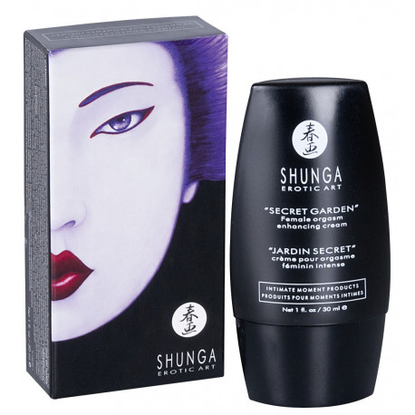 Shunga Secret Garden Klitoris Orgasme Creme
