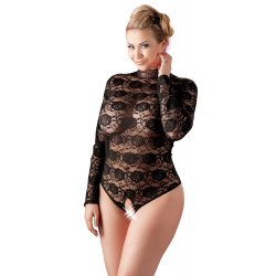 Cottelli Plus Size Bundløs Blonde Bodystocking