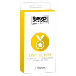 Secura Test the Best Kondom Mixpakke