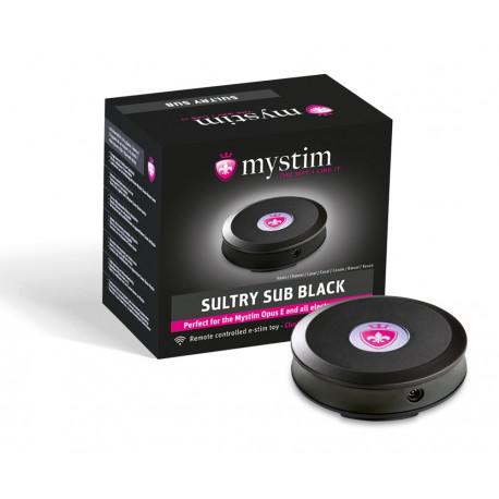 Mystim Sultry Sub Black E-Stim Receiver