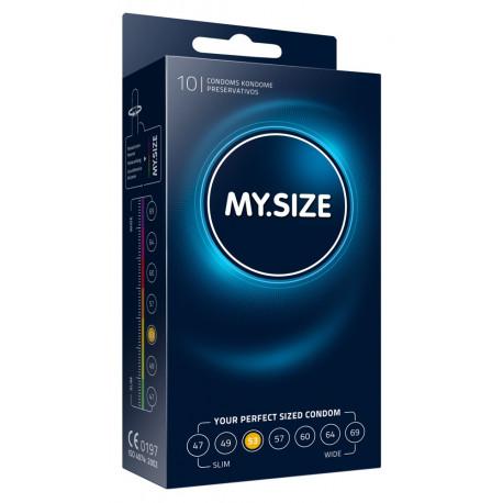 MY SIZE Kondomer 53 mm