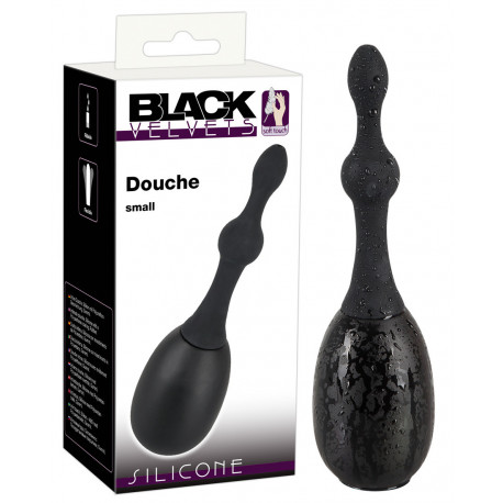 Black Velvets Silikone Anal Douche