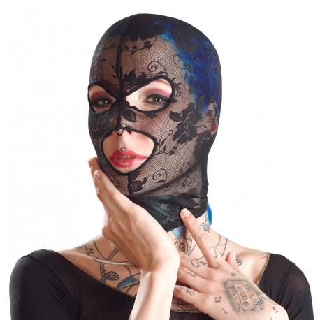 Bad Kitty Blonde Maske med Øjen- og Mundåbning