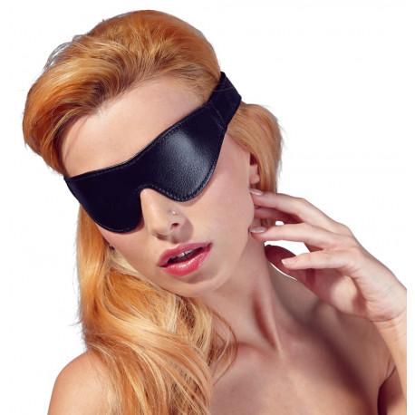 Fetish Collection Læderlook Blindfold