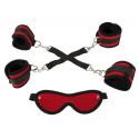 Bad Kitty Hogtie Bondage Sæt med Blindfold